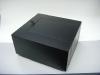 WD-109, Black L-Shaped Wood Box